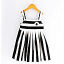 זול שמלות לבנות-בנות מתוק מכנסיים - פסים לבן 100