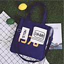 povoljno High School Bags-Žene Torbe Platno Torba za rame Uzorak / print Plava / Obala / Crn