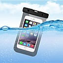 cheap Cell Phone Cases & Screen Protectors-Case For Apple iPhone X / iPhone 8 Plus Waterproof Pouch Bag Solid Colored Soft TPU for iPhone X / iPhone 8 Plus / iPhone 8