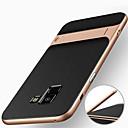 זול מגנים לטלפון & מגני מסך-מגן עבור Samsung Galaxy A8 Plus 2018 / A8 2018 עמיד בזעזועים / עם מעמד כיסוי אחורי שִׁריוֹן קשיח PC ל A8 2018 / A8+ 2018