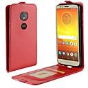 povoljno Maske za mobitele-Θήκη Za Motorola Moto X4 / MOTO G6 / Moto G6 Play Utor za kartice / Zaokret Korice Jednobojni Tvrdo PU koža