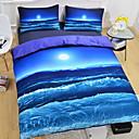 preiswerte Covers 3D Duvet-Bettbezug-Sets 3D Polyester Reaktivdruck 3 StückBedding Sets / 3-teilig (1 Bettbezug, 2 Kissenbezüge)