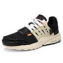 tanie Męskie obuwie sportowe-Unisex Komfortowe buty PU Lato Buty do lekkiej atletyki Spacery Biały / Czarny / Beżowy