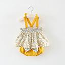 ieftine Set Îmbrăcăminte Bebeluși-Bebelus Fete Activ / De Bază Imprimeu Fără manșon Bumbac Set Îmbrăcăminte / Copil