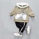 ieftine Set Îmbrăcăminte Băieți Bebeluși-Bebelus Băieți Mată Manșon Lung Set Îmbrăcăminte