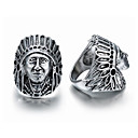 cheap Men's Oxfords-Men's Open Ring - Silver Plated Vintage, European, Steampunk Jewelry Silver For Carnival Masquerade