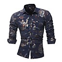preiswerte Edelstahl-Herrn Blumen Hemd