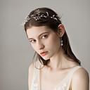 ieftine Accesorii Păr de Petrecerere-Perle Banderolele cu Detalii Perlă 1 Bucată Nuntă / Party / Seara Diadema
