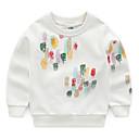 ieftine Băieți & Copil Hoodies & Bluze-Bebelus Băieți Activ Geometric Manșon Lung Bumbac Hanorac
