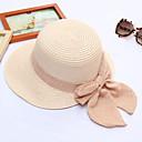 abordables Tocados de Fiesta-Mujer Volante Sombrero de Paja - Activo / Vacaciones Un Color