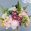 tanie Sztuczny kwiat-Sztuczne Kwiaty 1 Gałąź Pojedynczy Ślub / Kwiaty ślubne Róże / Hortensje / Fiolet Bukiety na stół