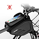 cheap Bike Saddle bags-CoolChange Cell Phone Bag / Bike Frame Bag 6.0/6.2 inch Touch Screen, Waterproof Cycling for Cycling / iPhone X / iPhone XR Black
