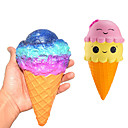 povoljno Antistres igračke-LT.Squishies Igračke za stiskanje / Antistresne igračke Za sladoled Stres i anksioznost reljef / Dekompresijske igračke Poli uretanska 10 pcs Dječji Sve Poklon