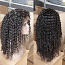 cheap Human Hair Wigs-Human Hair Glueless Lace Front Lace Front Wig Brazilian Hair Straight Kinky Curly Wig 130% Density with Baby Hair Natural Hairline African American Wig 100% Virgin Unprocessed Women's Short Medium