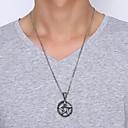 ieftine Lănțișoare Bărbați-Bărbați Coliere cu Pandativ - Teak Αστέρι Simplu, European, Modă Argintiu 60 cm Coliere Bijuterii 1 buc Pentru Zilnic, Stradă