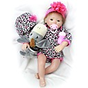 ieftine Păpuși-OtardDolls Păpuși Renăscute Bebe Fetiță 20 inch Silicon - natural, Mâini aplicate manual Lui Kid Fete Cadou