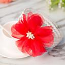 preiswerte Kinder Kopfbedeckungen-Baby Mädchen Süß Alltag Solide Blume Kunstseide Haarzubehör Rote Einheitsgröße / Stirnbänder