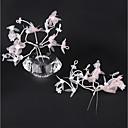 preiswerte Ohrringe-Kunststoff Haarklammer mit Blume 1 Paar Hochzeit / Geburtstag Kopfschmuck