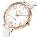 abordables Adhesivos de Pared-Geneva Mujer Reloj de Vestir / Reloj de Pulsera Chino Nuevo diseño / Reloj Casual / Cool Piel Banda Casual / Moda Negro / Blanco / Azul / Un año
