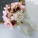 tanie Sztuczny kwiat-Sztuczne Kwiaty 1 Gałąź Pojedynczy Ślub Kalia liliowa Bukiety na stół