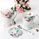 tanie Kawa i herbata-Naczynia do picia Porcelana Kubek Ciepło-izolacyjne 2 pcs