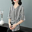 cheap Clutches & Evening Bags-XSSL Women's Vintage / Basic Blouse - Striped