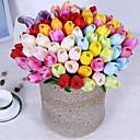 tanie Sztuczny kwiat-Sztuczne Kwiaty 10 Gałąź Klasyczny / Pojedynczy Impreza / Wieczór / Kwiaty ślubne Tulipany / Wieczne kwiaty Bukiety na stół