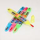 זול כתיבה-פִּיחוֹן עֵט עֵט, פלסטיק / דלק צבעים מרובים צבעי דיו עבור ציוד בית ספר ציוד משרדי חבילה של 4 pcs