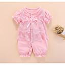 ieftine Set Îmbrăcăminte Bebeluși-Bebelus Fete Activ / De Bază Mată Cu Șiret Mânecă scurtă Bumbac O - piesă