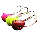 cheap Lighting Accessories-1 pcs pcs Fishing Lures Jig Head Lead / Metalic Sea Fishing / Fly Fishing / Bait Casting