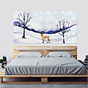 preiswerte Wand-Sticker-Dekorative Wand Sticker / Türaufkleber - Flugzeug-Wand Sticker / 3D Wand Sticker Abstrakt / Landschaft Wohnzimmer / Schlafzimmer