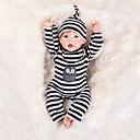 ieftine Păpuși-OtardDolls Păpuși Renăscute Bebe Băiețel 20 inch natural Cadou Confecționat Manual Siguranță Copii Non Toxic Interacțiunea părinte-copil Lui Kid Băieți / Fete Jucarii Cadou