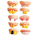 cheap Gags & Practical Jokes-Halloween Prop Funny Creative / Tooth / 10 pcs Pieces All Adults' Gift
