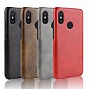 זול מגנים לטלפון & מגני מסך-מגן עבור Xiaomi Mi 8 / Mi 6X מובלט כיסוי אחורי אחיד קשיח עור PU ל Xiaomi Mi Mix 2S / Xiaomi Mi 8 / Xiaomi Mi 6X(Mi A2)