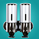 ieftine Soap Dispensers-Dispenser Săpun Model nou Modern Teak / ABS + PC 1 buc - Baie Montaj Perete