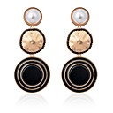 cheap Earrings-Women's Pearl Drop Earrings - Pearl Classic, Fashion Black / Blue / Pink For School Going out