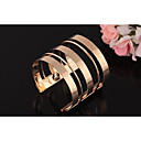 cheap Lamp Bases & Connectors-Women's Layered Cuff Bracelet - Punk, Rock Bracelet Gold / Silver For Club / Bar