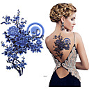 abordables Tatuajes Temporales-3 pcs Tatuajes Adhesivos Los tatuajes temporales Series de Flor Artes de cuerpo hombro