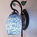 billige LED lyspærer-Mat / Anti-reflektion Antik Væglamper Soveværelse Træ / bambus Væglys 220-240V 40 W