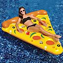 billige Lekebiler i støpejern-Pizza Oppblåsbare bassengleker PVC Holdbar, Oppblåsbar Svømming / Vannsport til Voksen 180*155*20 cm