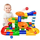 cheap Marble Track Sets-Marble Track Set / Marble Run Creative / Parent-Child Interaction All Child's Gift 104 pcs