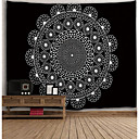 cheap Contemporary Duvet Covers-Novelty / Holiday Wall Decor Polyester Classic / Vintage Wall Art, Wall Tapestries Decoration