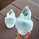 povoljno Cipele za djevojčice-Djevojčice Cipele PU Proljeće ljeto Udobne cipele Sneakers Hodanje Perje za Djeca Obala / Pink / Svijetlo zelena