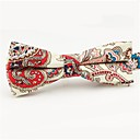 cheap Men's Oxfords-Men's Party / Basic Cotton / Polyester Bow Tie - Color Block / Paisley Bow / All Seasons