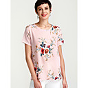 cheap Jewelry Sets-Women's Blouse - Floral Print / Summer / Floral Patterns