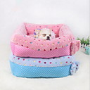 cheap Drinkware Accessories-Soft / Cute Dog Clothes Bed Polka Dot Blue / Pink Dogs / Cats