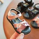 povoljno Cipele za djevojčice-Djevojčice Cipele PU Proljeće ljeto Cipele za bebe Sandale Mašnica za Dijete koje je tek prohodalo Crn / Pink