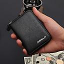 cheap Coin Purse-Men's Bags Cowhide Coin Purse Pattern / Print Black / Coffee