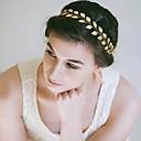 preiswerte Parykopfbedeckungen-Aleación Stirnbänder mit Metallic 1 Stück Hochzeit / Besondere Anlässe Kopfschmuck