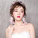 voordelige Kanten pruiken van echt haar-Dames Eenvoudig / Koreaans Kruiselings Bloemen Hoofdketting -